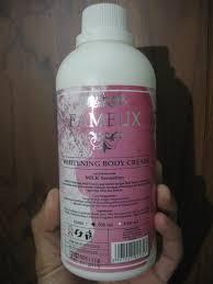 fameux body cream kemasan 1000ml
