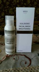 ERTOS FACIAL WASH BRIGHTENING BPOM ORIGINAL