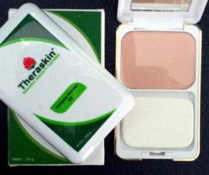 Theraskin Bedak Padat KN (Compact Powder) Original BPOM