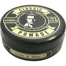 Classic Pomade Ginseng Shantos Romeo
