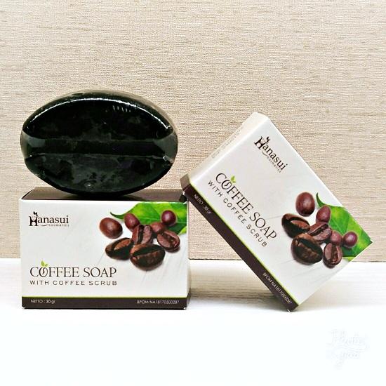 hanasui coffee soap