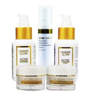 Maggie glow acne series