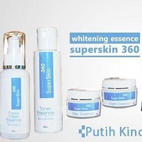 Cream SuperSkin Whitening Essence 360