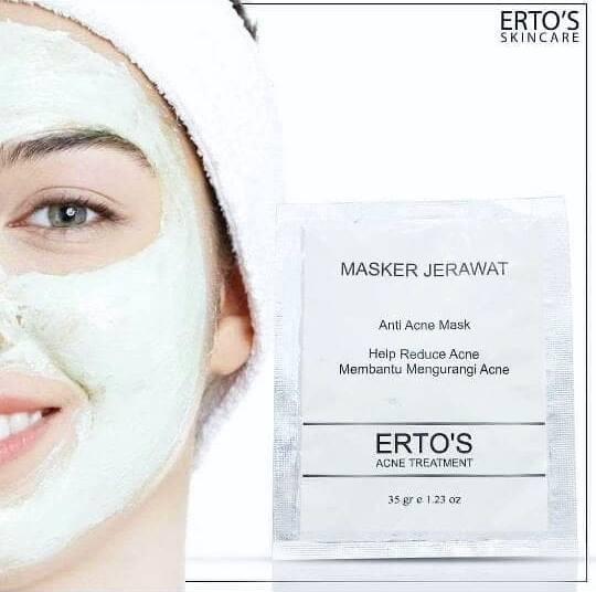 Masker Jerawat Erto's Anti Acne