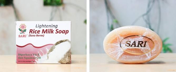 SARI Lightening Rice Milk Soap