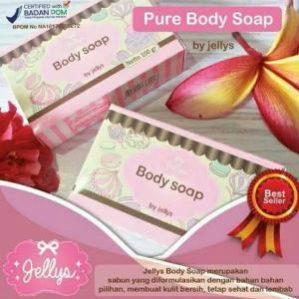 Pure Soap By Jellys Original BPOM
