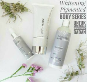 Ms Glow Whitening Pigmented Body Series Original BPOM