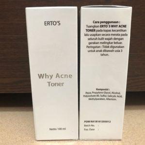 Ertos Why Acne Toner Original BPOM