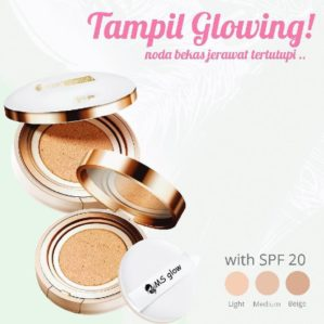 Ms Glow Moist Cushion Original BPOM