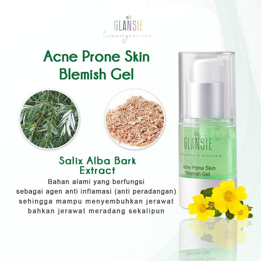 Rosehip Oil Cara Menghilangkan Bekas Jerawat: Glansie Serum Acne Prone Skin Original BPOM