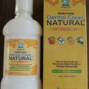 Dental Clear Natural Brazillian Propolis BPOM