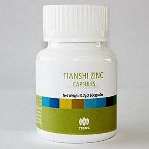 TIANSHI ZINC CAPSULES ORIGINAL BPOM