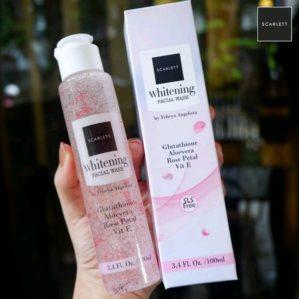 Scarlett Whitening Facial Wash BPOM