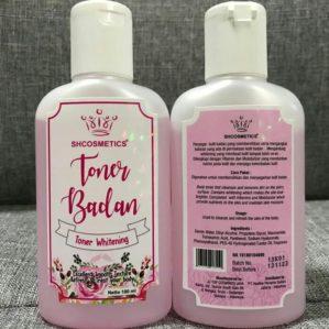 Toner Badan SHCosmetics BPOM