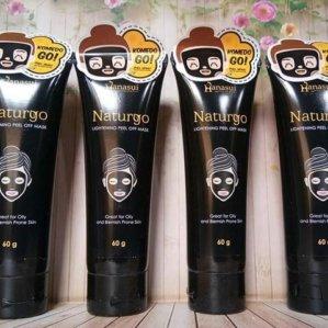 Hanasui Naturgo Lightening Peel Off Mask Original BPOM