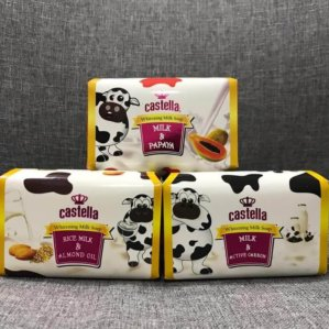 Castella Whitening Milk Soap Original BPOM