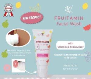 Facial Wash Fruitamin Original BPOM