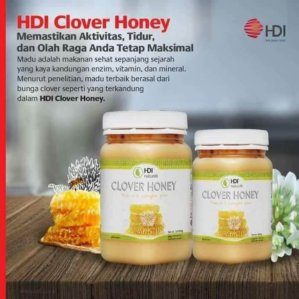 HDI Clover Honey 500 Gram Original BPOM