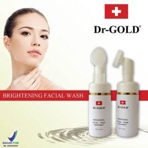 DR Gold Facial Wash Treatment Original BPOM
