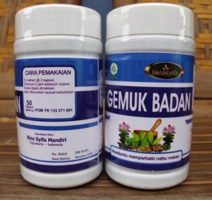 Binasyifa Herbal Penggemuk Badan Original Bpom