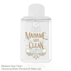MADAME GIE Says Clean Cleansing Water Original BPOM