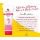KLINSKIN Hand & Body Lotion WHITENING ORIGINAL BPOM