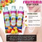 Lulur Body Scrub Fruitamin Original BPOM