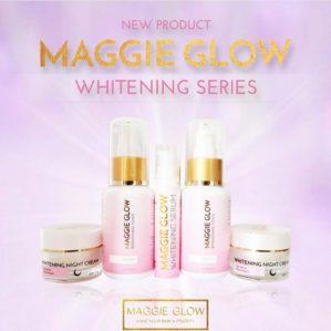 MAGGIE GLOW WHITENING 5 IN 1 BPOM ORIGINAL