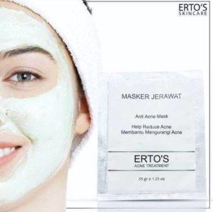 Masker Jerawat Erto's Anti Acne Original BPOM