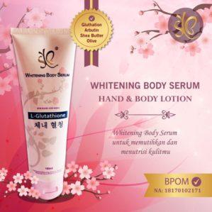 SYB Whitening Body Serum With Glutathione Original BPOM