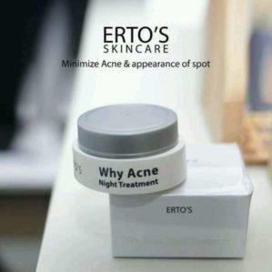 Ertos Why Acne Night Cream Original BPOM