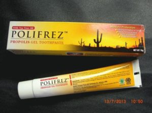 HDI Polifrez Propolis Gel Toothpaste Original BPOM