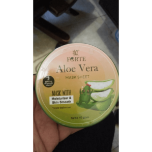 Forte Aloevera Mask Sheet Original BPOM