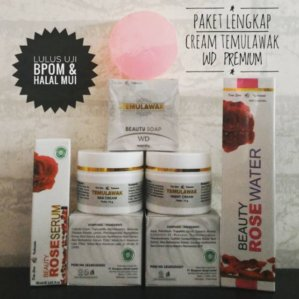 Cream Temulawak WD Premium Original BPOM
