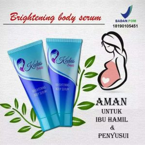 KEDAS BEAUTY BRIGHTENING BODY SERUM BPOM